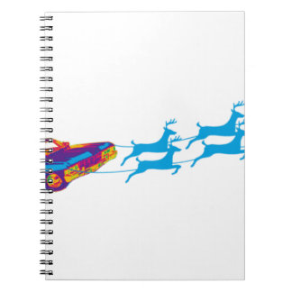 Very Supernaturnal Christmas Notebook