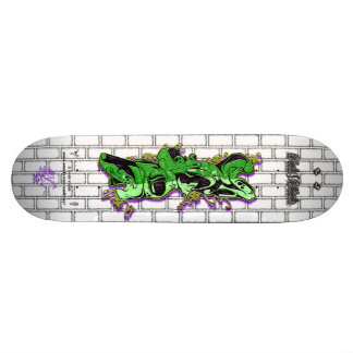 VERY Tag Green 01 ~ Graffiti Art Pro Skateboard