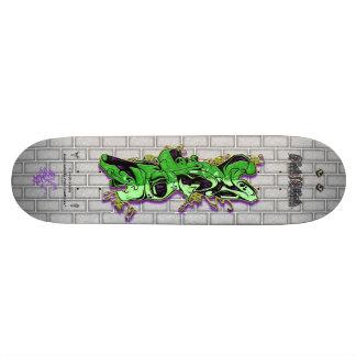 VERY Tag Green 02 Graffiti Art Pro Skateboard