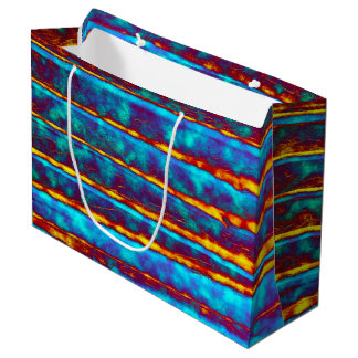 Very Unique Abstract Pattern Large Gift Bag