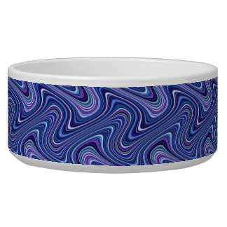 Very Unique Blue Shade Curvy Line Pattern