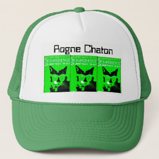 Very verde gatos trucker hat