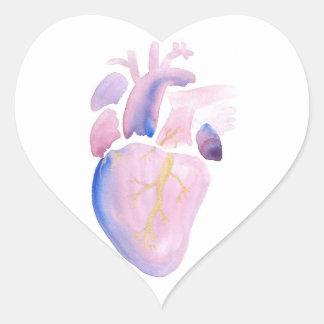 Very Violet Heart Heart Sticker