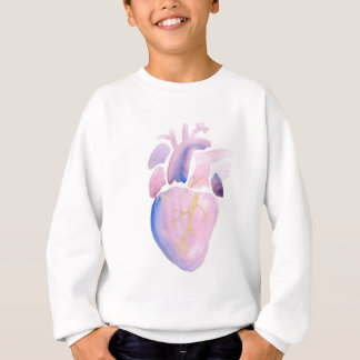 Very Violet Heart Sweatshirt