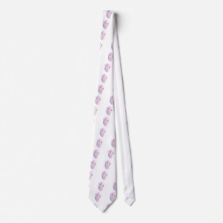 Very Violet Heart Tie