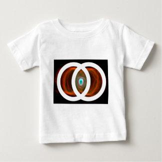 Vesica Piscis Hourglass Nebula Baby T-Shirt