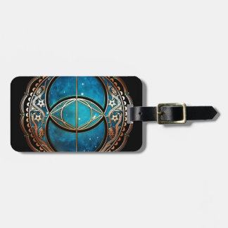 Vesicle Pisces Luggage Tag