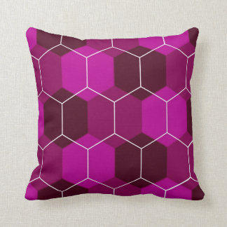 Vespiary (Red-Violet) Pillow Cushion