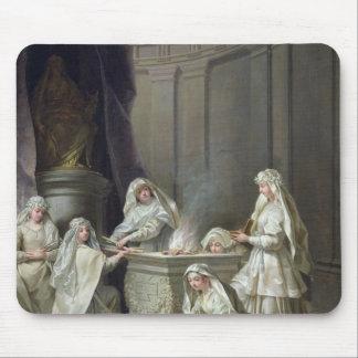 Vestal Virgins, 1727 Mouse Pad