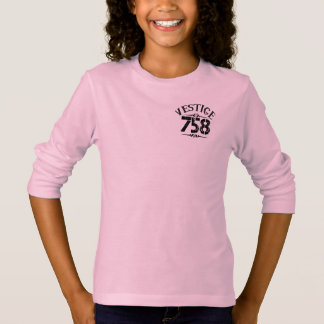 Vestige758 Girls' Basic Long Sleeve T-Shirt