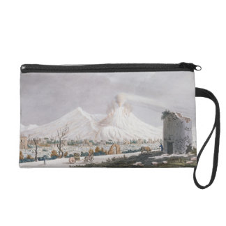Vesuvius in Snow, plate V from 'Campi Phlegraei: O Wristlet Clutch