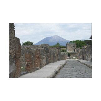 Vesuvius-Pompeii Canvas Print