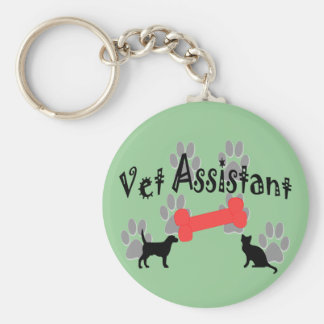 Vet Assistant Gifts Key Ring