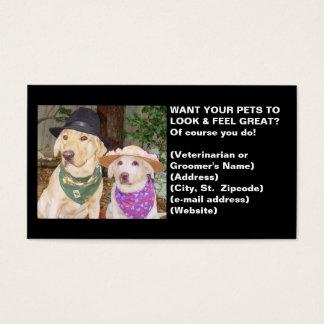 Vet or Groomer's Profile Card
