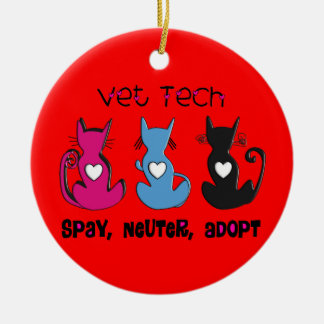 VET Tech Christmas Ornament