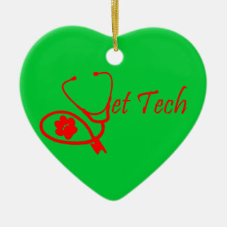 vet tech christmas ornament