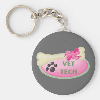 Vet Tech Key Ring
