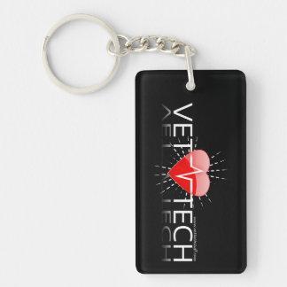 vet tech keychain