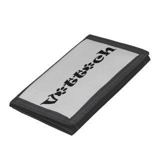 vet tech paw wallet