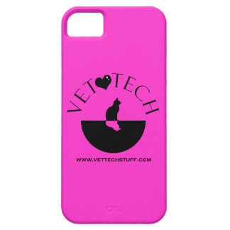vet tech phone case hot pink