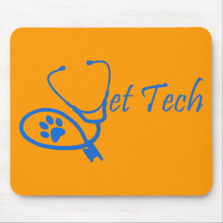 VET TECH STETHOSCOPE MOUSE PAD