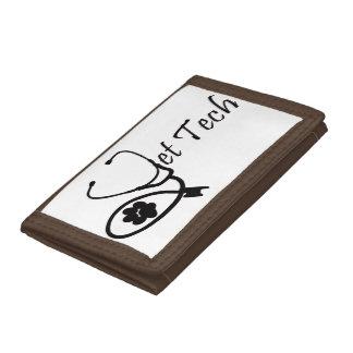 vet tech trifold wallets