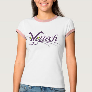 vet tech two tone tee