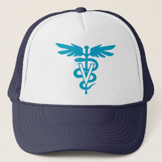 Vet Tech - Veterinary Symbol Trucker Hat