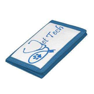 vet tech wallet blue