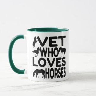 Vet Who Loves Horses Mug