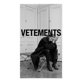 Vetements Poster