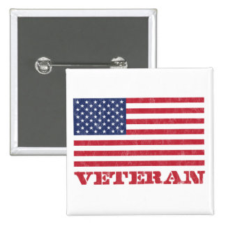 veteran 15 cm square badge