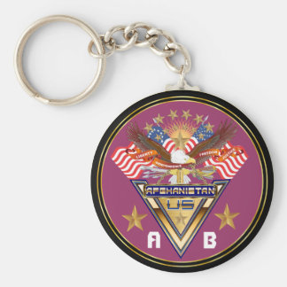 Veteran All Afghanistan New View notes please Basic Round Button Key Ring
