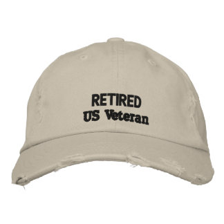 veteran cap embroidered cap