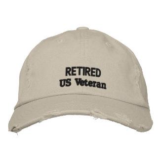 veteran cap embroidered cap