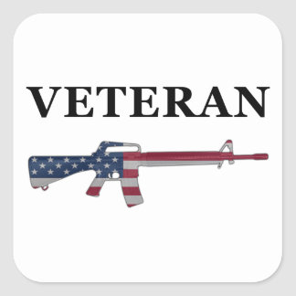 Veteran M16 Sticker