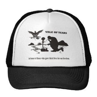 Veteran Memorial Day Vale of Tears Mesh Hats