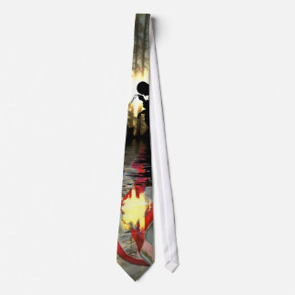 Veteran Memorial Vale of Tears Remembrance Tie