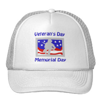 Veteran s Day Memorial Day Trucker Hat