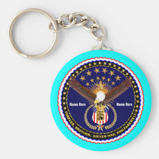 Veteran Vale of Tears Remembrance Basic Round Button Key Ring