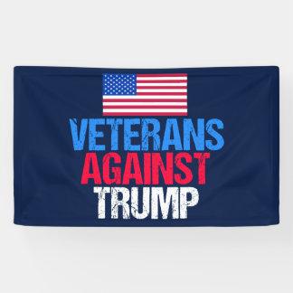 Veterans Against Trump Banner