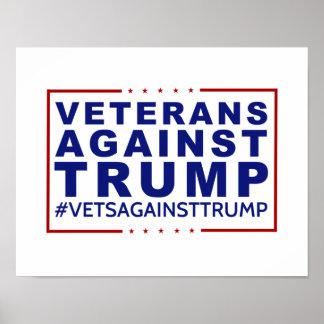 Veterans Against Trump Poster