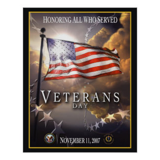 Veteran's Day 2007 Poster