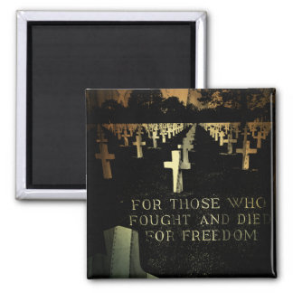 Veterans Day D-Day Memorial Magnet