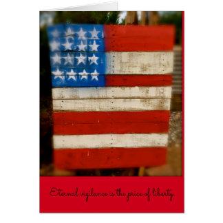 Veteran's Day Eternal Vigilance Card