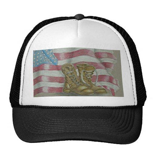 veteran's day trucker hat