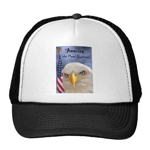 """Veterans Day"" Trucker Hats"