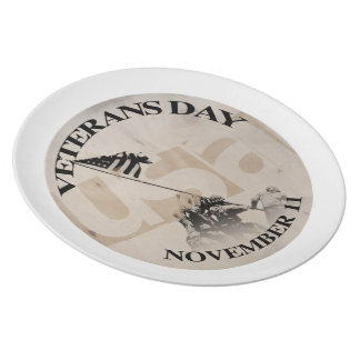 VETERANS DAY NOVEMBER 11 PLATE