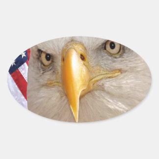 """Veterans Day"" Oval Sticker"
