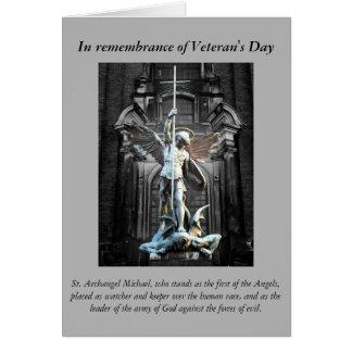 Veteran's Day Prayer Card